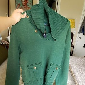 NWT!!Polo by Ralph Lauren Men's cowl sweater